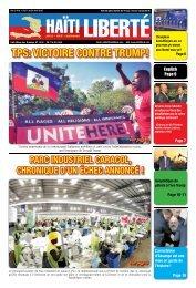 Haiti Liberte 17 Avril 2019