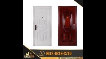 0812-9219-2709 [ CALL / WA ] Promo Pintu Rumah Plat Besi, Distributor Pintu Rumah Cat Putih