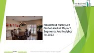 Household Furniture  Market Global Opportunities And Strategies To 2023