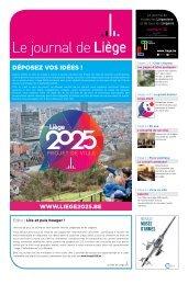 Votre Journal de Liège du mois d'avril 2019