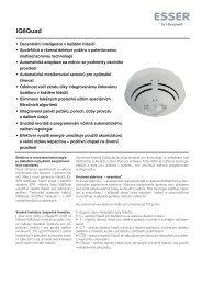 IQ8Quad - Honeywell Life Safety Austria and Eastern Europe