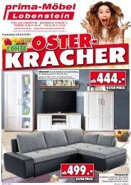 Echte Osterkracher bei prima-Möbel, 07356 Bad Lobenstein