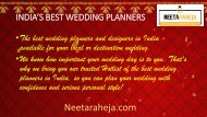 Wedding Planner Neeta Raheja
