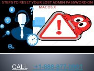 STEPS TO RESET YOUR LOST ADMIN PASSWORD ON PPT-converted