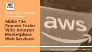 Sell Seamlessly With Amazon Marketplace Web Services