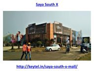 Saya South X Office Space Noida Extension