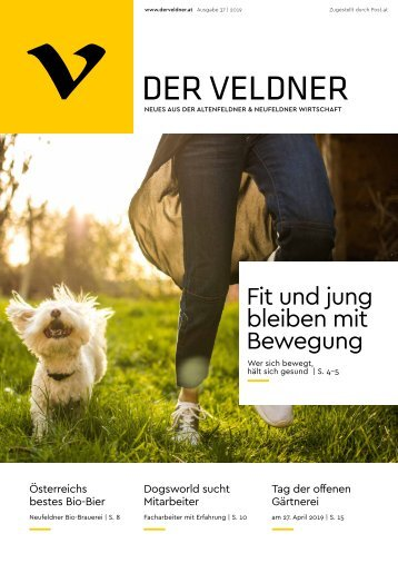 Der Veldner – Ausgabe Frühjahr 2019
