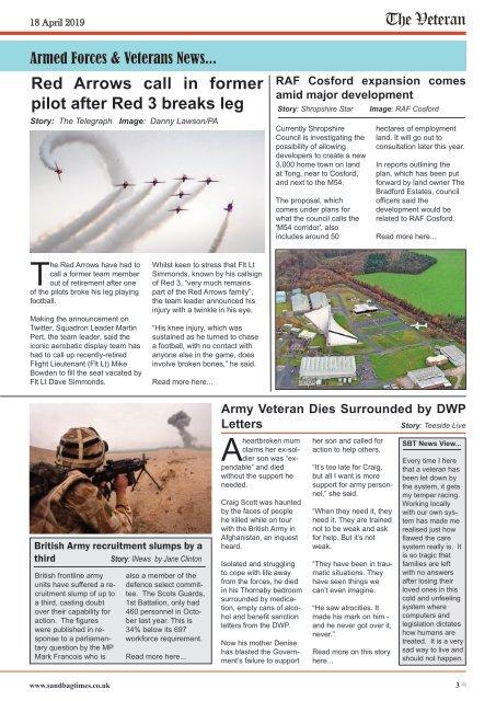 The Veteran - April Issue