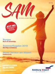 Salzburg Airport Magazin SAM 01-2019