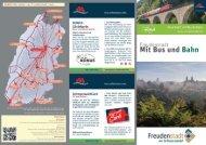 Freudenstadt mit Bus und Bahn