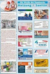 Woche des Handwerks: Heizung und Sanitär