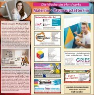 Woche des Handwerks: Maler und Raumausstatter