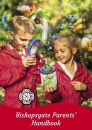 Bishopsgate Parent Handbook