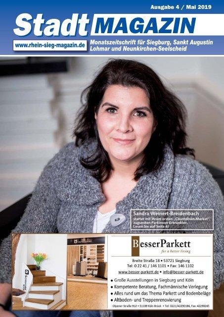 Stadt-Magazin Siegburg, Sankt Augustin, Lohmar, Neunkirchen-Seelscheid - April/Mai 2019