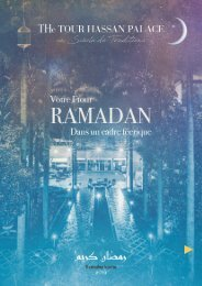 Menu Ftour THP Ramadan 2019