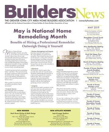 Builders News May 2019