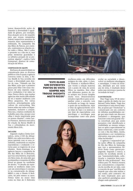 edição de 22 de abril de 2019