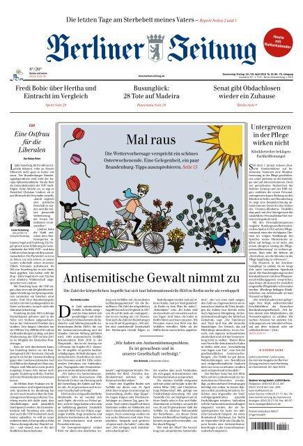 Berliner Zeitung 18 04 2019
