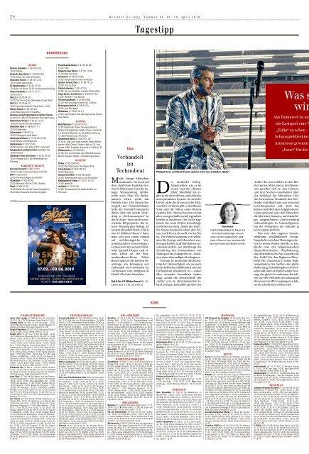 Berliner Zeitung 18.04.2019