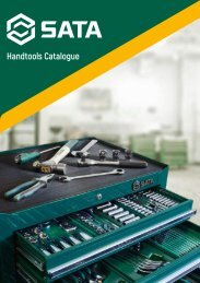 SATA Catalog - Unelte și scule de mână - 2017-2018 (EN)