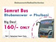 Bhubaneswar to Phulbani Bus Services
