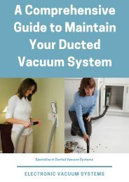 A Comprehensive Guide to Maintain Your Ducted Vacuum System