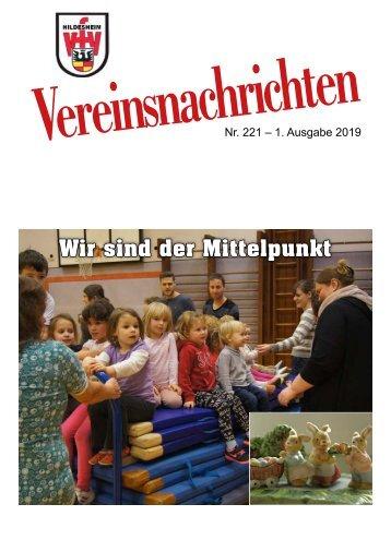 VfV Hildesheim - Vereinszeitung 1/2019
