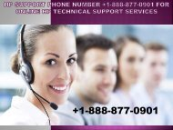 HP Support Number +1-888-877-0901 | Get HP Support