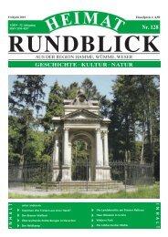 Heimat-Rundblick Nr. 128, Frühjahr 2019