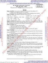 55 đề HSG cấp huyện hóa 8 9 có lời giải chi tiết