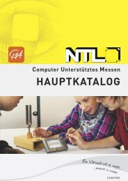 NTL Computer unterstütztes Lernen | Physik | Bachmann Lehrmittel