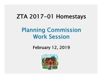 Homestay Feb 12 PC Work Session