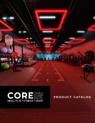 Core Health & Fitness Digital Catalog 2019