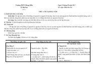 GA Hóa học lớp 10 theo chuẩn kiến thức kĩ năng mới cả năm đầy đủ 3 cột GV soạn Phan Dư Tú Trường THPT Phong Điền