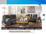Buying Living Room Furniture