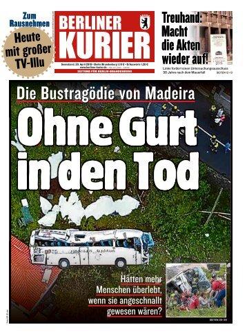 Berliner Kurier 20.04.2019
