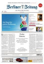 Berliner Zeitung 20.04.2019