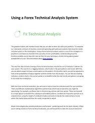 5 fx technical analysis