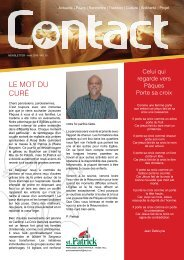 Contact Newsletter Avril 2019 No.10