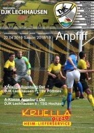 Anpfiff - DJK Augsburg Lechhausen - 22.04.2019