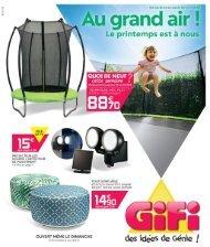 Gifi catalogue 23-30 avril 2019