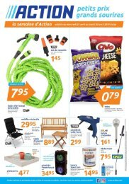 Magasin Action catalogue 24-30 avril 2019
