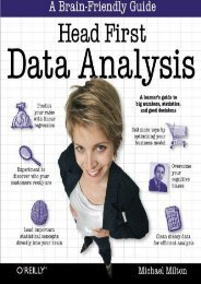 [PDF] DOWNLOAD Head First Data Analysis: A learner s guide to big numbers, statistics, and good decisions