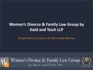 How to Choose Divorce Lawyers in Chicago IL