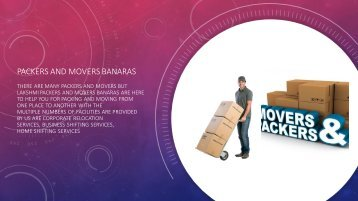 Packers and movers banaras