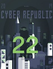 Cyber Republic Weekly Update 22