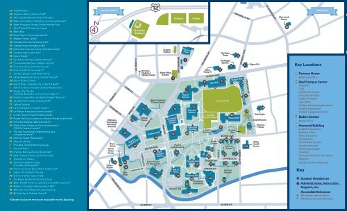 walla walla university campus map Whitman College Campus Map 2019 walla walla university campus map