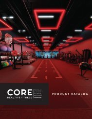 Core Health & Fitness Deutsche Katalog 2019