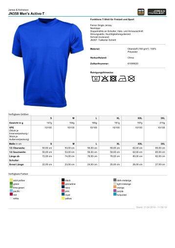 Auswahl_TN Shirts