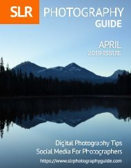 SLR Photography Guide - April Edition 2019